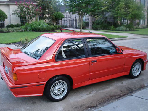BMW e30 M3 for sale in Henna Red 38k miles on eBay